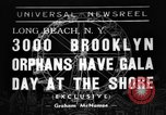 Image of Orphans Long Beach New York USA, 1938, second 1 stock footage video 65675049445