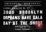 Image of Orphans Long Beach New York USA, 1938, second 2 stock footage video 65675049445