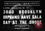 Image of Orphans Long Beach New York USA, 1938, second 5 stock footage video 65675049445