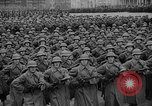 Image of Russian soldiers parade in Red Square with rifles at the ready Russia, 1938, second 3 stock footage video 65675049450