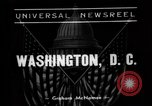 Image of Roosevelt Washington DC USA, 1938, second 1 stock footage video 65675049454