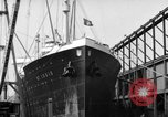 Image of German ships New York United States USA, 1938, second 4 stock footage video 65675049455