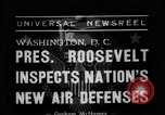 Image of Franklin D Roosevelt Washington DC USA, 1938, second 1 stock footage video 65675049457