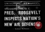 Image of Franklin D Roosevelt Washington DC USA, 1938, second 4 stock footage video 65675049457