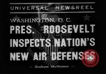 Image of Franklin D Roosevelt Washington DC USA, 1938, second 6 stock footage video 65675049457