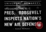 Image of Franklin D Roosevelt Washington DC USA, 1938, second 7 stock footage video 65675049457