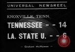Image of football game Knoxville Tennessee USA, 1938, second 1 stock footage video 65675049460