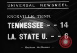 Image of football game Knoxville Tennessee USA, 1938, second 7 stock footage video 65675049460