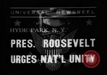 Image of President Roosevelt New York United States USA, 1938, second 1 stock footage video 65675049462