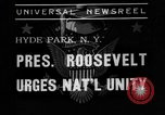 Image of President Roosevelt New York United States USA, 1938, second 2 stock footage video 65675049462