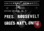 Image of President Roosevelt New York United States USA, 1938, second 4 stock footage video 65675049462