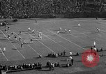 Image of Football game of Carnegie Mellon versus Pittsburgh Pittsburgh Pennsylvania USA, 1938, second 8 stock footage video 65675049467