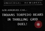 Image of California college football Los Angeles California USA, 1938, second 8 stock footage video 65675049469