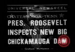 Image of President Roosevelt Chattanooga Tennessee USA, 1938, second 1 stock footage video 65675049470