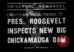 Image of President Roosevelt Chattanooga Tennessee USA, 1938, second 2 stock footage video 65675049470