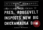 Image of President Roosevelt Chattanooga Tennessee USA, 1938, second 6 stock footage video 65675049470