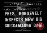 Image of President Roosevelt Chattanooga Tennessee USA, 1938, second 7 stock footage video 65675049470