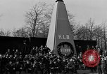 Image of monument Buchenwald Germany, 1945, second 12 stock footage video 65675049487