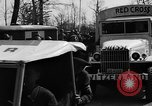 Image of Red Cross trucks Buchenwald Germany, 1945, second 5 stock footage video 65675049491