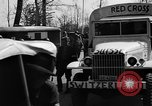 Image of Red Cross trucks Buchenwald Germany, 1945, second 6 stock footage video 65675049491