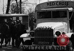 Image of Red Cross trucks Buchenwald Germany, 1945, second 7 stock footage video 65675049491