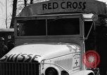 Image of Red Cross trucks Buchenwald Germany, 1945, second 9 stock footage video 65675049491