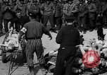 Image of pile of dead Buchenwald Germany, 1945, second 2 stock footage video 65675049492