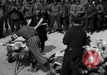 Image of pile of dead Buchenwald Germany, 1945, second 4 stock footage video 65675049492