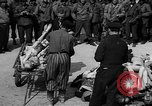 Image of pile of dead Buchenwald Germany, 1945, second 6 stock footage video 65675049492