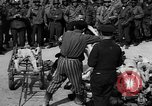 Image of pile of dead Buchenwald Germany, 1945, second 8 stock footage video 65675049492