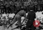 Image of pile of dead Buchenwald Germany, 1945, second 9 stock footage video 65675049492
