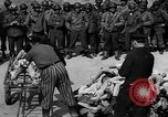 Image of pile of dead Buchenwald Germany, 1945, second 11 stock footage video 65675049492