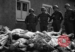 Image of dead bodies Buchenwald Germany, 1945, second 2 stock footage video 65675049495