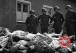 Image of dead bodies Buchenwald Germany, 1945, second 3 stock footage video 65675049495
