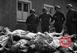 Image of dead bodies Buchenwald Germany, 1945, second 4 stock footage video 65675049495