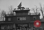 Image of concentration camp funeral Buchenwald Germany, 1945, second 8 stock footage video 65675049498