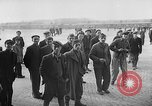 Image of liberated prisoners of Buchenwald Buchenwald Germany, 1945, second 8 stock footage video 65675049501