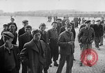 Image of liberated prisoners of Buchenwald Buchenwald Germany, 1945, second 9 stock footage video 65675049501