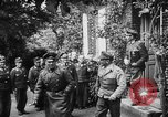 Image of General Erwin Rommel and staff France, 1944, second 11 stock footage video 65675049505