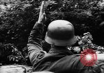 Image of German forces battle Allies in Normandy France, 1944, second 3 stock footage video 65675049506