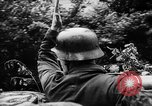 Image of German forces battle Allies in Normandy France, 1944, second 4 stock footage video 65675049506
