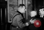 Image of Benito Mussolini meets with cabinet of  Italian Social Republic Italy, 1943, second 8 stock footage video 65675049512