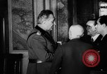 Image of Benito Mussolini meets with cabinet of  Italian Social Republic Italy, 1943, second 10 stock footage video 65675049512