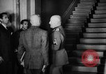 Image of Benito Mussolini meets with cabinet of  Italian Social Republic Italy, 1943, second 11 stock footage video 65675049512