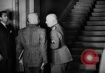 Image of Benito Mussolini meets with cabinet of  Italian Social Republic Italy, 1943, second 12 stock footage video 65675049512
