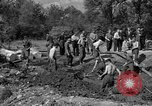 Image of Nazi Gestapo victims exhumed Polygone France, 1944, second 3 stock footage video 65675049516