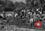 Image of Nazi Gestapo victims exhumed Polygone France, 1944, second 4 stock footage video 65675049516