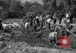 Image of Nazi Gestapo victims exhumed Polygone France, 1944, second 5 stock footage video 65675049516