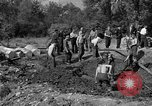 Image of Nazi Gestapo victims exhumed Polygone France, 1944, second 6 stock footage video 65675049516