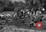 Image of Nazi Gestapo victims exhumed Polygone France, 1944, second 7 stock footage video 65675049516